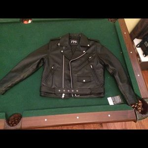 Other - FMC leather jacket